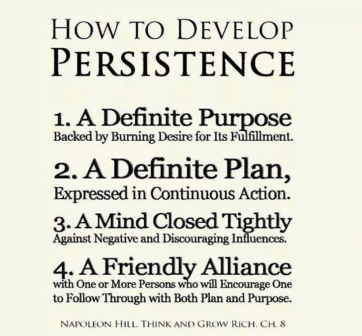 Persistence Motivational Quotes: Persistence Quotes & Sayings