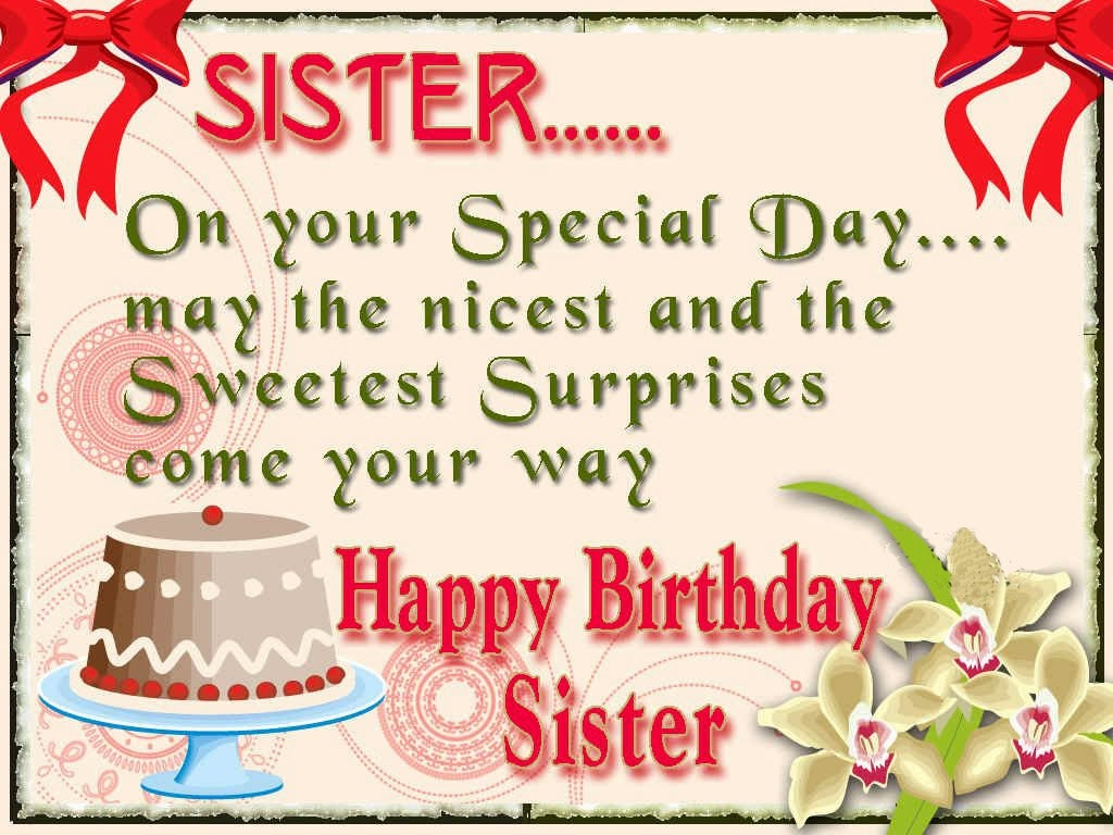Happy Birthday Sister Quote | Quote Number 551655 | Picture ...