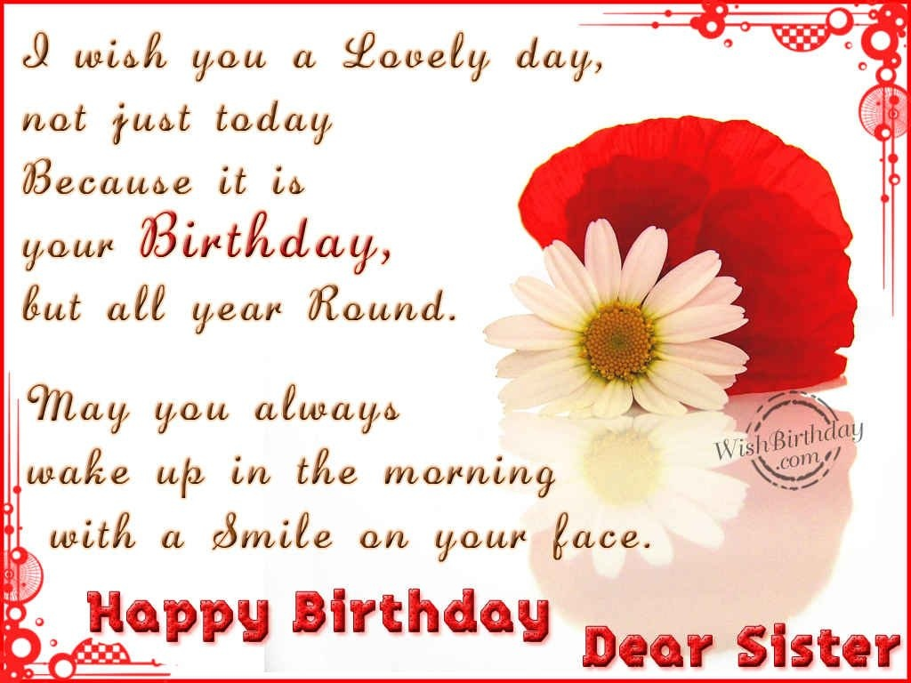 Happy Birthday Sister Quote Quote Number 551666 Picture Quotes
