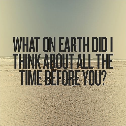 Thinking About You Quote Picture Quote #1