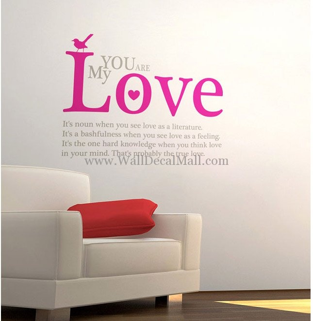 Wall decals quote quote number 551882 picture quotes for Wall mural quotes