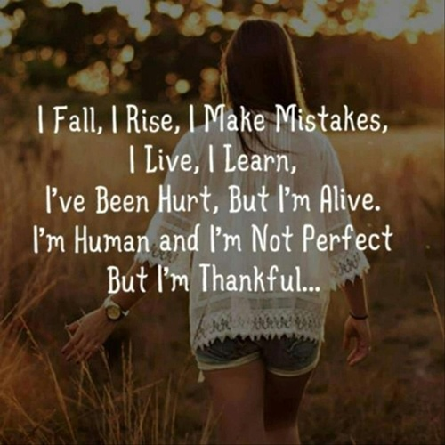 I Am Not Perfect Quotes & Sayings