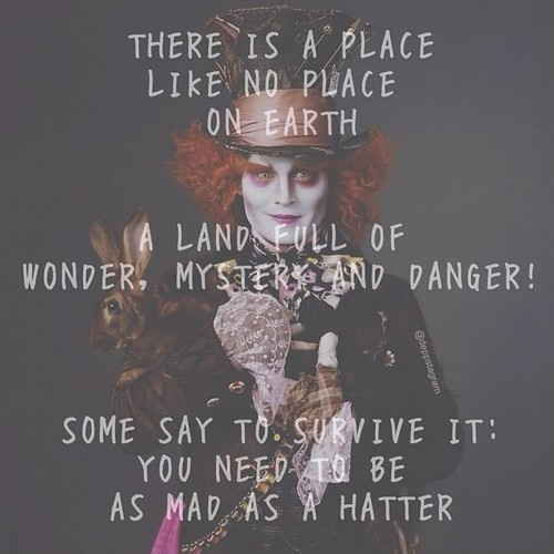 Mad Hatter Quote Picture Quote #1