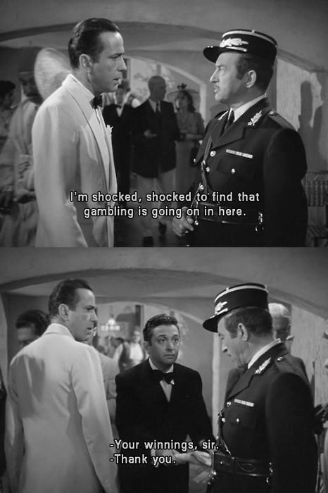 Casablanca Movie Quotes Amp Sayings Casablanca Movie