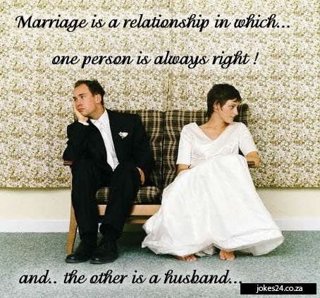 Funny Marriage Quote Picture Quote #1