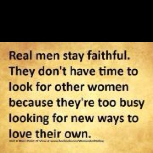 Real Men Quote Picture Quote #1