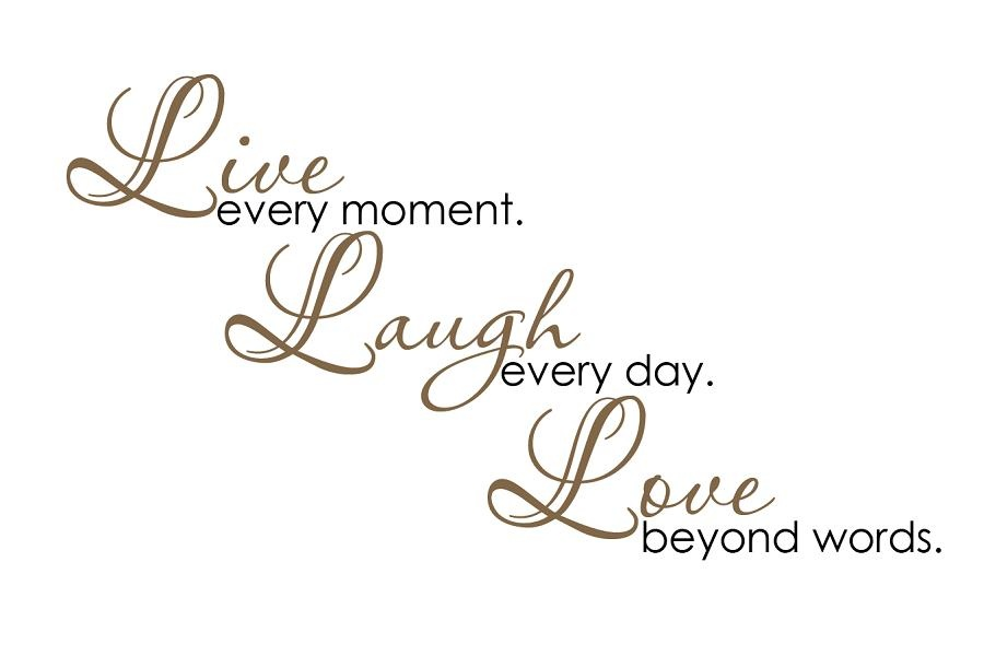 Live Laugh Love Quote Captivating Live Laugh Love Quote  Quote Number 552932  Picture Quotes