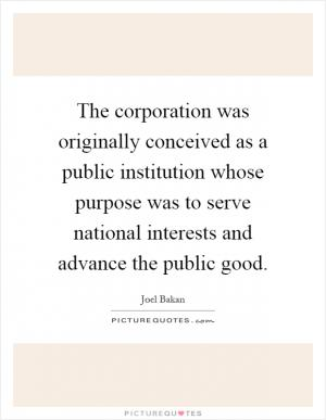 "bakan calls corporations 'psychopathic creatures' is The corporation, like the psychopathic personality it resembles, is programmed to exploit others for profit"" (pp56, 69) according to bakan, corporations have a 'built-in compulsion' to externalize costs, and any concern for the environment or human safety quickly dissipates when big businesses are faced with the bottom line – profits."