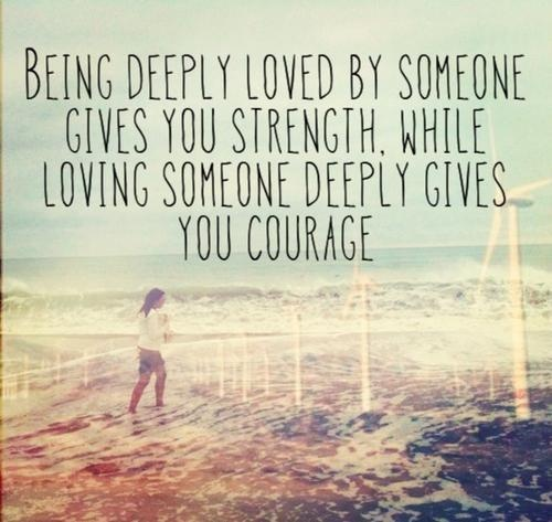 Deep Love Quote Picture Quote #1