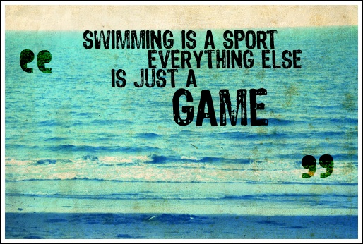 Swimming Quote Picture Quote #1