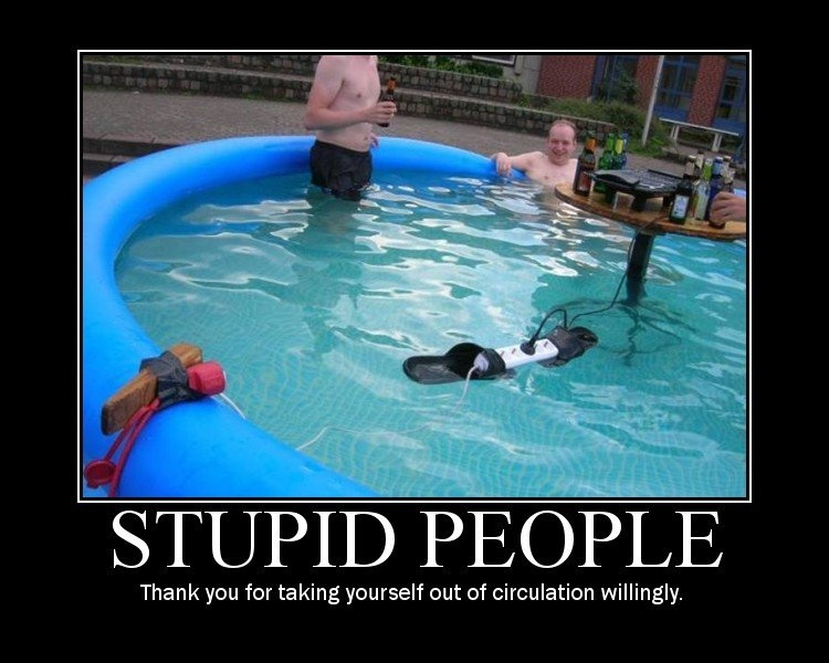 Stupid People Quote Picture Quote #1