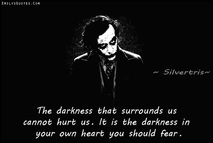 Dark Quote Picture Quote #1