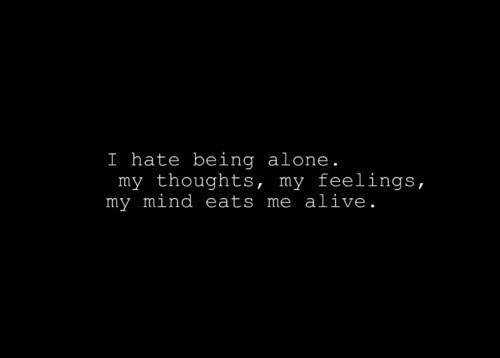Feeling Alone Quote Picture Quote #1