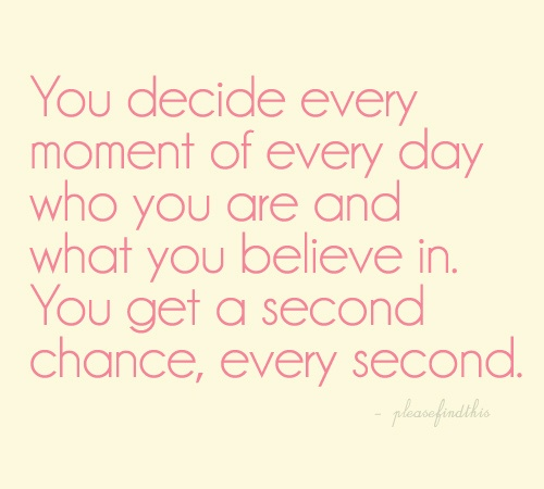 Second Chance Quote Picture Quote #1