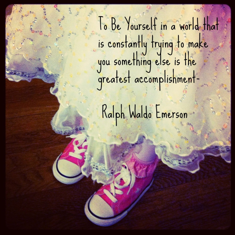 Being Yourself Quote Picture Quote #1