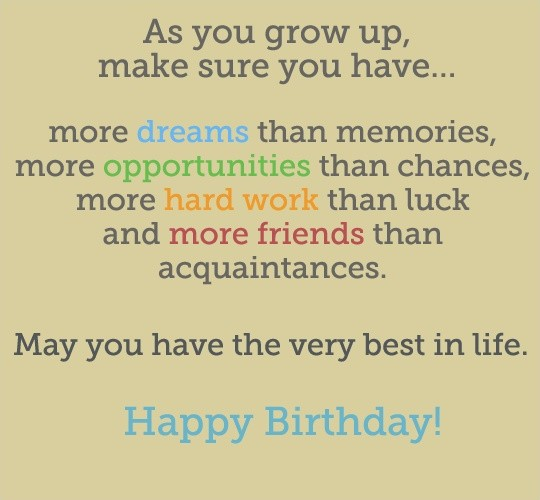 21st Birthday Quote Picture Quote #1