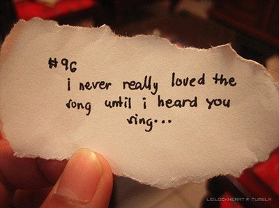 Love Song Quote Picture Quote #1