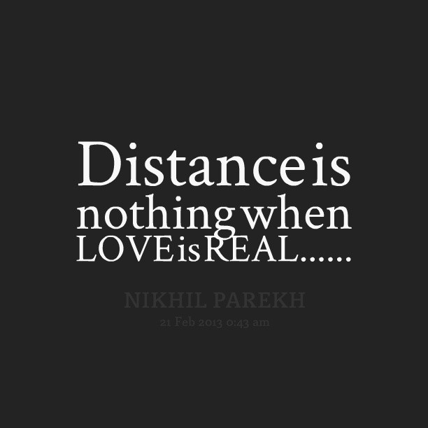 Distance Quots: Long Distance Love Quotes & Sayings