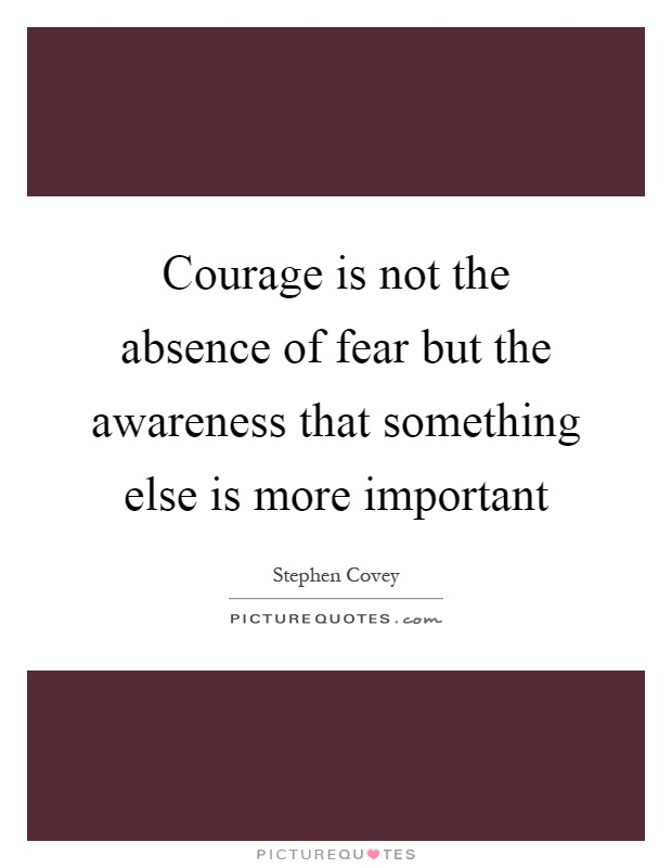 What is the cost of courage?