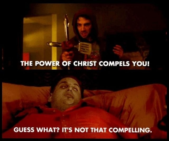 The power of Christ compels you! Guess what? It's not that compelling Picture Quote #1