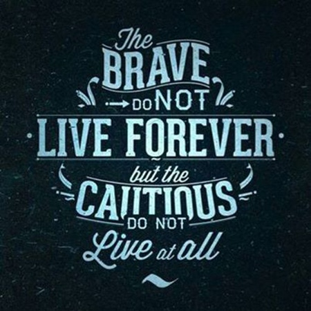 Brave Quotes New Brave Quote  Quote Number 556996  Picture Quotes