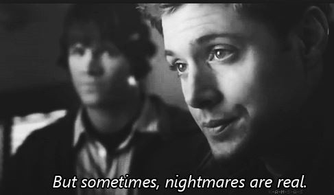 But sometimes, nightmares are real Picture Quote #1