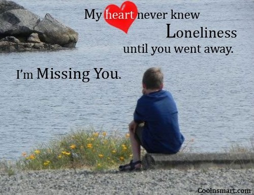 Feeling Lonely Quote Picture Quote #1