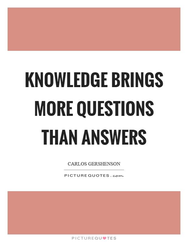 Knowledge essays