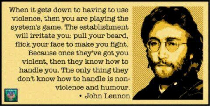 John Lennon Peace Quote 2 Picture Quote #1