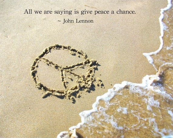 John Lennon Peace Quote 3 Picture Quote #1