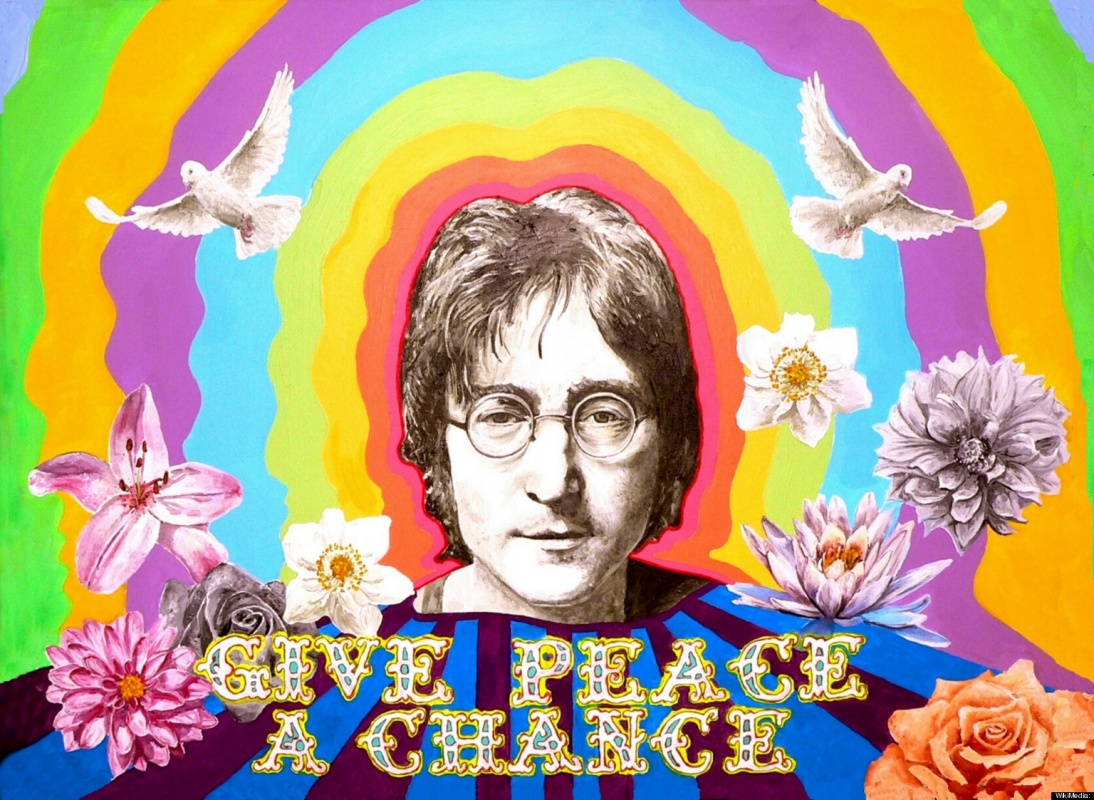 John Lennon Peace Quote 4 Picture Quote #1