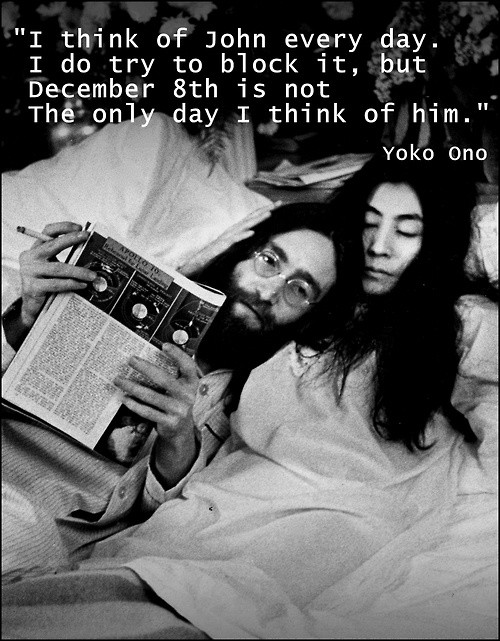 John Lennon And Yoko Ono Quote 1 Picture Quote #1