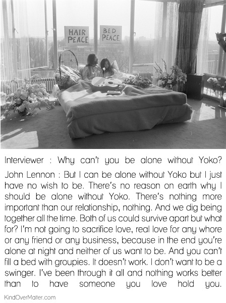John Lennon And Yoko Ono Quote 2 Picture Quote #1