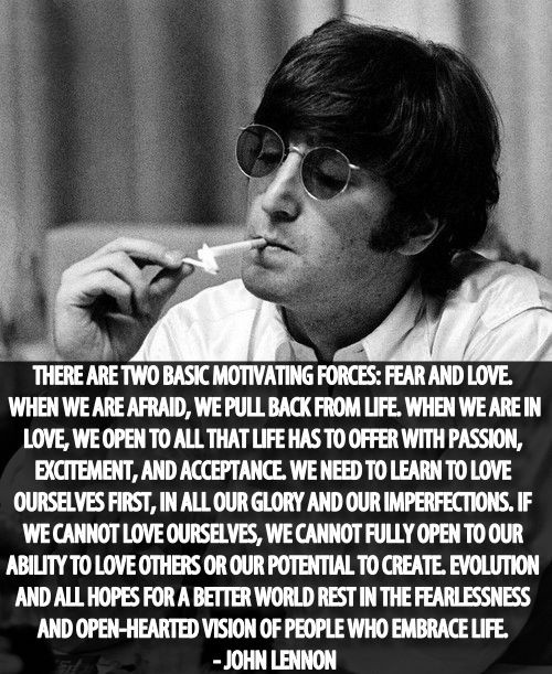John Lennon Great Quote 1 Picture Quote #1