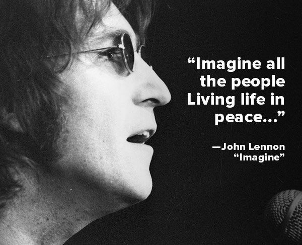 John Lennon Great Quote 3 Picture Quote #1