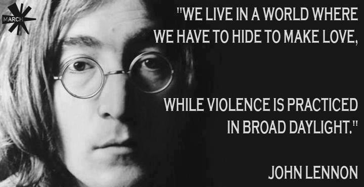 John Lennon Great Quote 6 Picture Quote #1
