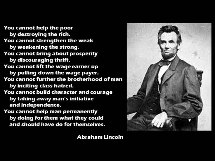 Abraham Lincoln On Leadership Quote 1 Picture Quote #1