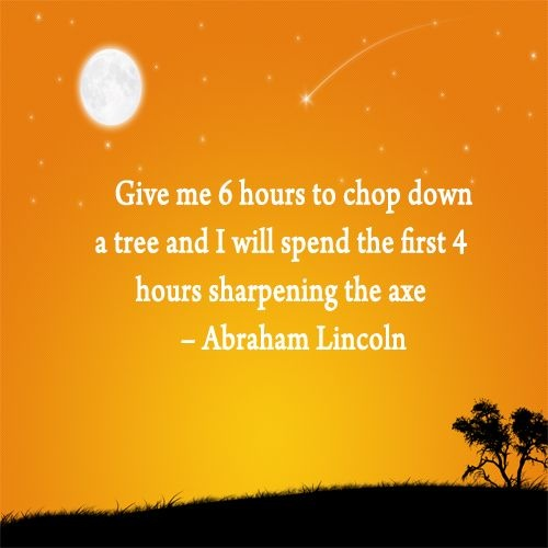 Abraham Lincoln Quote About Goals 1 Picture Quote #1