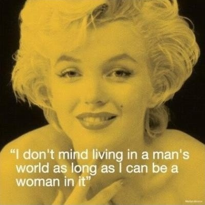 Cute Marilyn Monroe Quote 1 Picture Quote #1