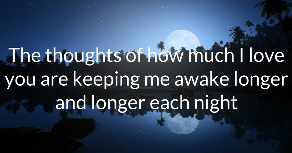 Goodnight Love Quote For Her 3 Picture Quote #1