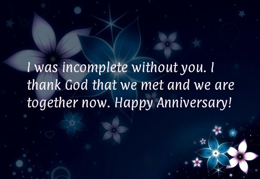 Anniversary Quote For Him 1 Picture Quote #1