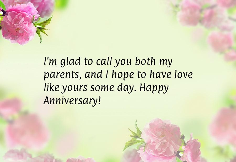 Anniversary Quote For Parents 1 Picture Quote #1