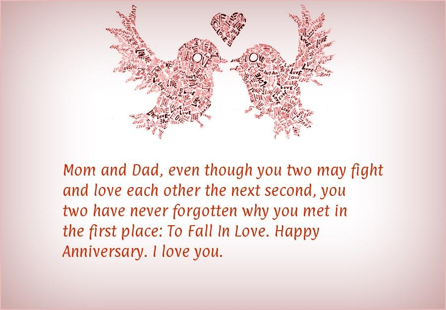 Anniversary Quote For Parents 2 Picture Quote #1