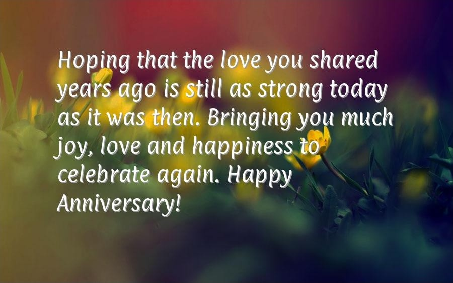 Anniversary Quote For Parents 3 Picture Quote #1