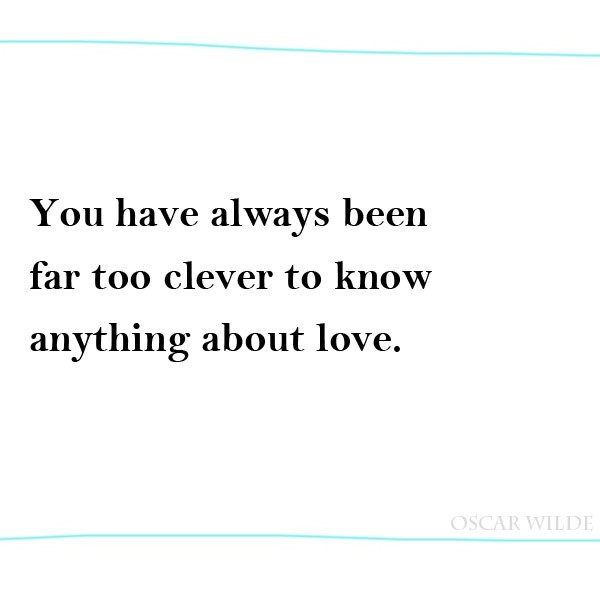 Oscar Wilde Quote About Love 1 Picture Quote #1
