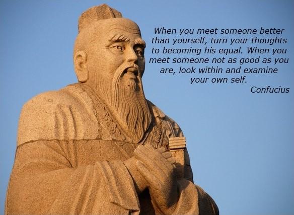 Most Famous Confucius Quote 4 Picture Quote #1