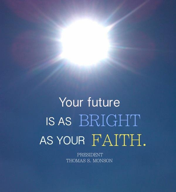Bright Future Quote 1 Picture Quote #1