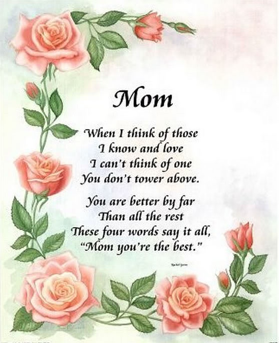 Mothers Day Poems And Quote 5 Picture Quote #1
