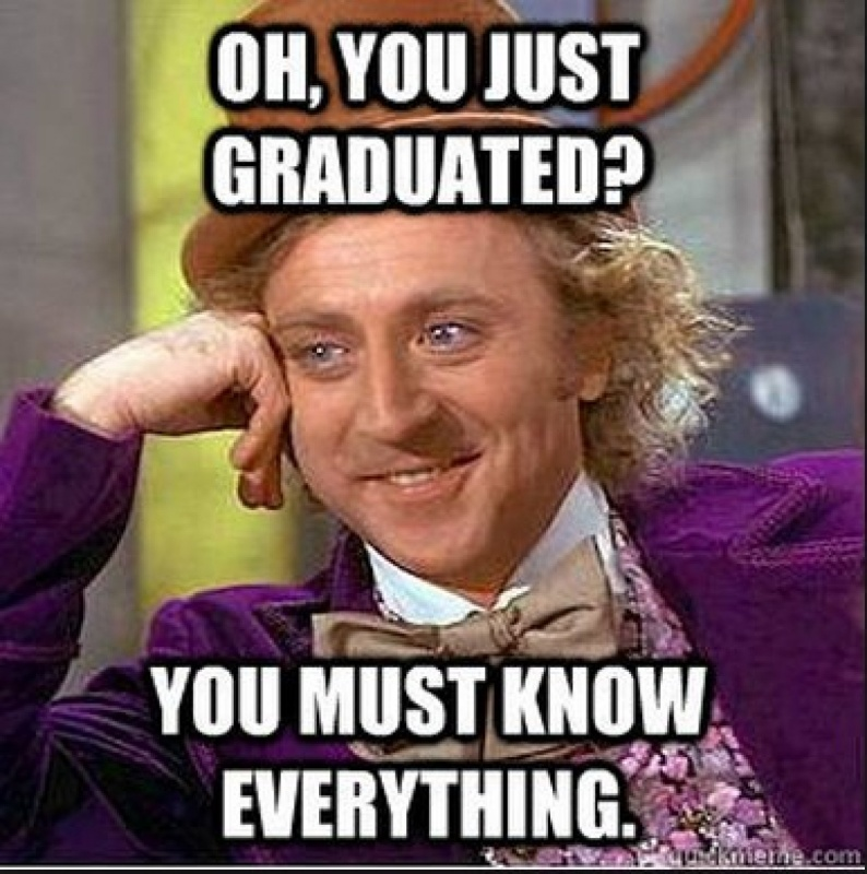 Beautiful Funny College Graduation Quote 1 Picture Quote #1