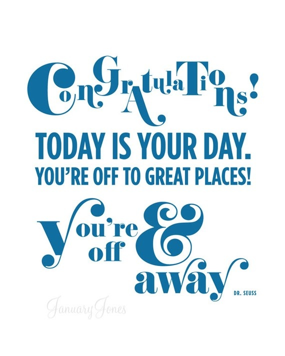 Graduation Quote By Dr Seuss 3 Picture Quote #1